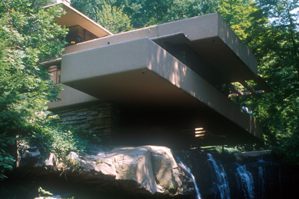 "F. L. WRIGHT, BEAR RUN: ""CANTILEVERS BEFORE THE FALL"""