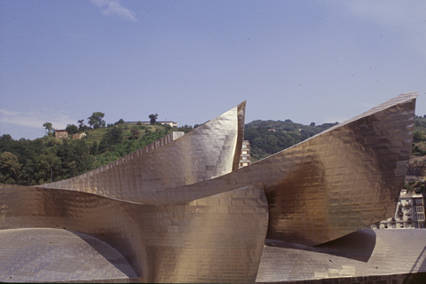 "F. GEHRY, BILBAO: ""PROWS"""