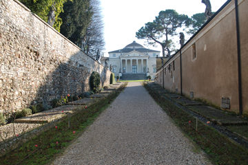 "A. PALLADIO, VICENZA: "" FROM THE GATE"""