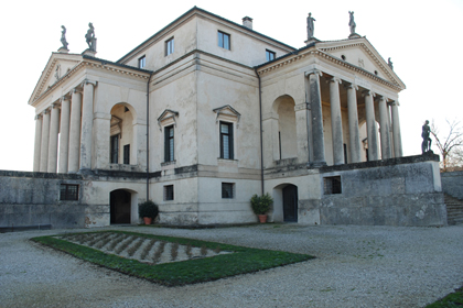 "A. PALLADIO, VICENZA: ""NORTH CORNER"""
