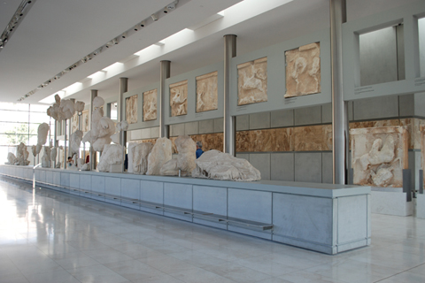 "B. TSCHUMI ATHENS: ""THE PARTHENON GALLERY, TOP FLOOR EAST SIDE"""