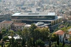 "B. TSCHUMI ATHENS: ""VIEW FROM ACROPOLIS"""