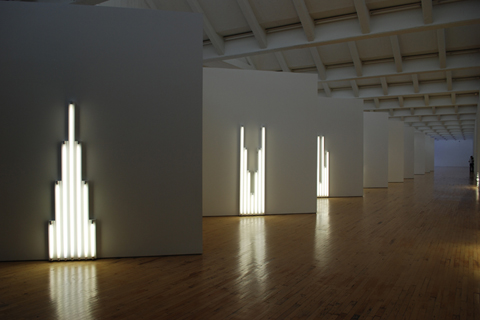 "R. IRWING, BACON NY: ""COMING FROM DAN FLAVIN HALL"""