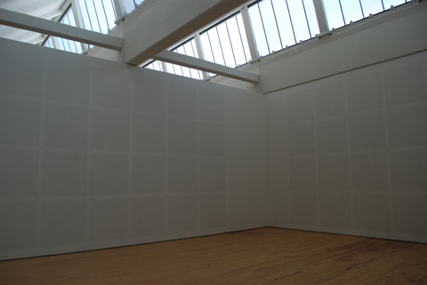 "R. IRWING, BACON NY: ""AGNES MARTIN GALLERY"" (Innocent Love series, 1999)"