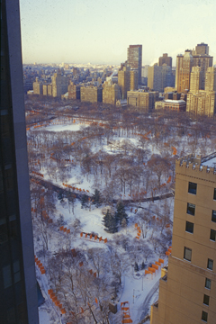 "CHRISTO AND JANNE-CLAUDE, NEW YORK: ""FROM WINDOW TO SORROUNDING CITY BLOKS"""