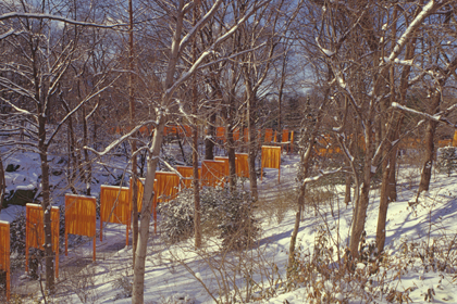 "CHRISTO AND JANNE-CLAUDE, NEW YORK: ""UNDER THE TREES"""