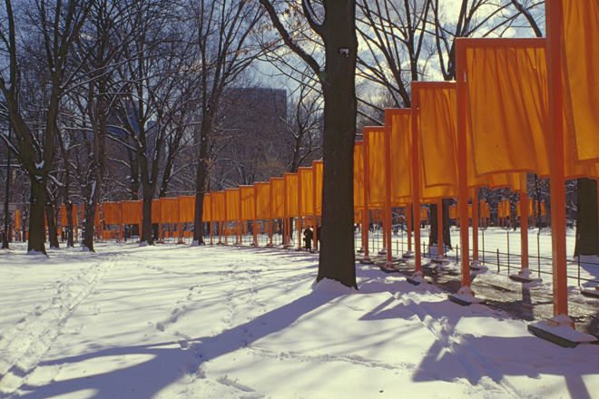 "CHRISTO AND JANNE-CLAUDE, NEW YORK: ""GEOMETRY FOLLOWS TREES"""