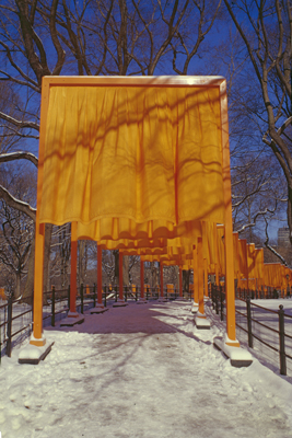 "CHRISTO AND JANNE-CLAUDE, NEW YORK: ""SAIL TUNNEL"""