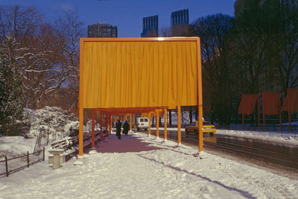"CHRISTO AND JANNE-CLAUDE, NEW YORK: ""WALKING AT LEISURE"""
