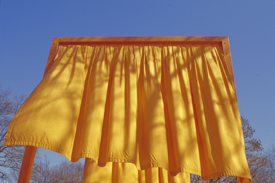 "CHRISTO AND JANNE-CLAUDE, NEW YORK: ""TRY TO CATCH THE WIND"""