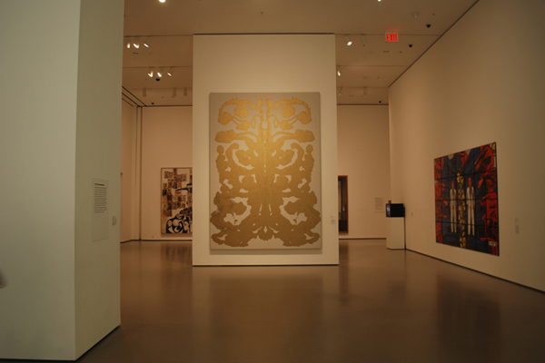 modern art gallery