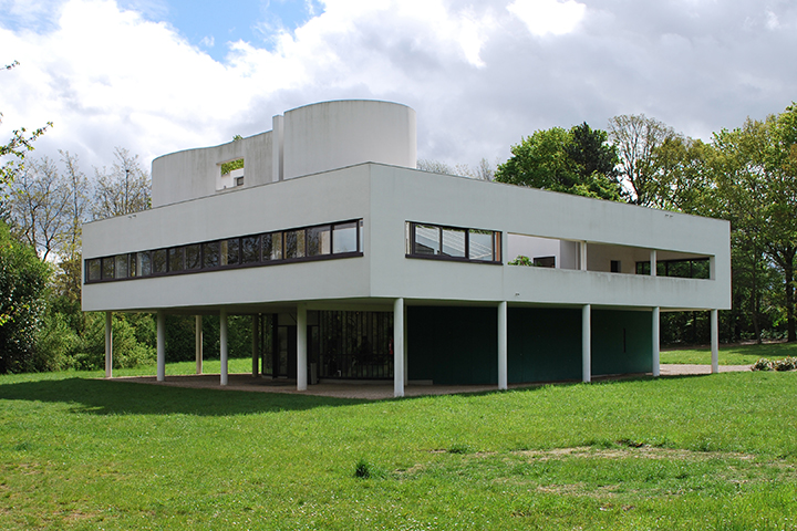 Le corbusier villa savoye poissy 1931 for Poissy le corbusier