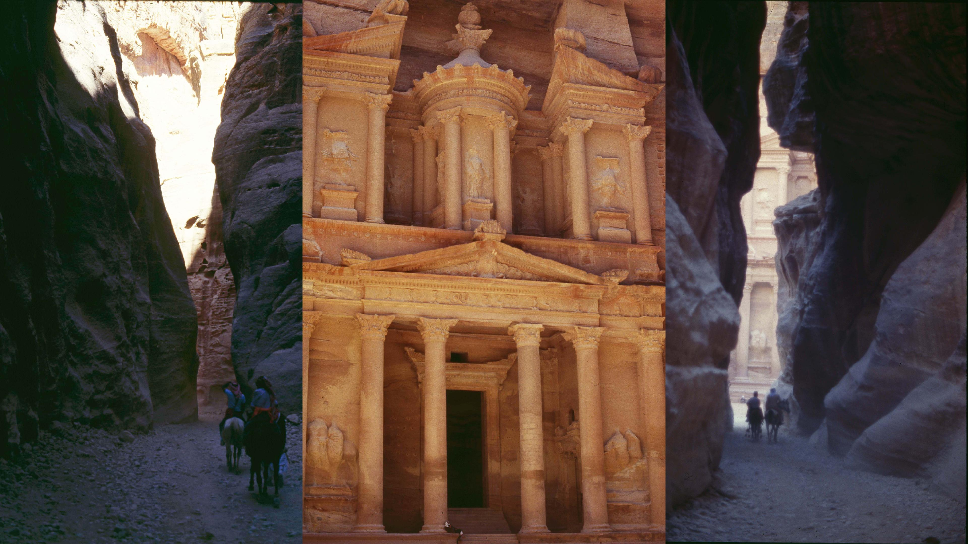 EL KHASNETH, PETRA (first centuries BC to AD)